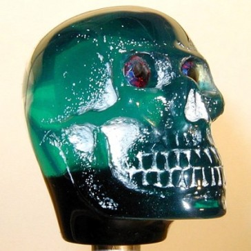 Teal Skull - Light-up Version