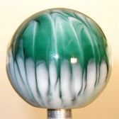 Shift Knob | Green Abstract Design #AD-6