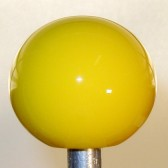 Yellow Plain Shift Knob #PL-4