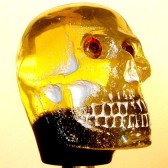 Shift Knob | Yellow Skull #SK-4