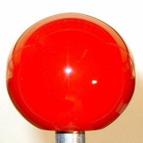 Red Plain Shift Knob