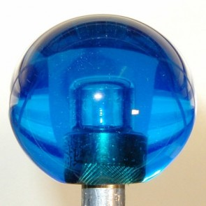 Blue Plain Shift Knob