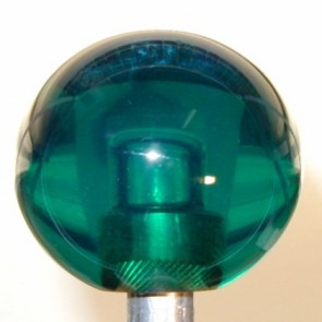 Teal Plain Shift Knob