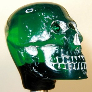 Green Skull - Light-up Version