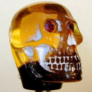 Amber Skull - Light-up Version