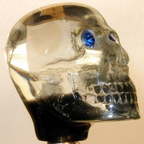 Clear Skull - Light-up Version