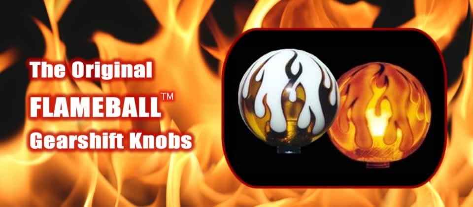 The Original Flameball Shift Knob